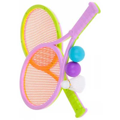 логотип категории Бадминтон, тенис