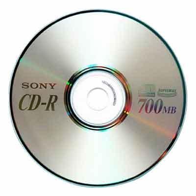 логотип категории CD, DVD - диски