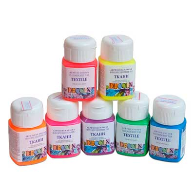 Краски для текстиля