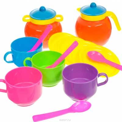 логотип категории Кухни, посудка, продукты игрушечные