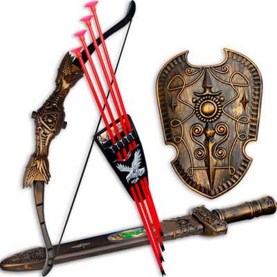 логотип категории Луки, арбалеты, мечи