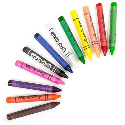 логотип категории Пастель, восковые, масляные карандаши