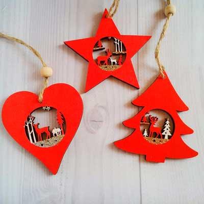 логотип категории Подвески новогодние