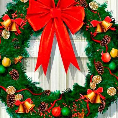 логотип категории Венки новогодние