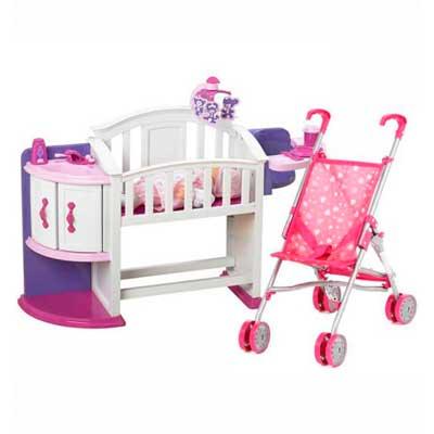 Кроватки, коляски игрушечные