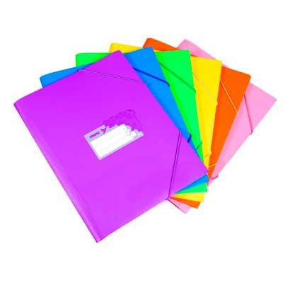 Папки на резинке
